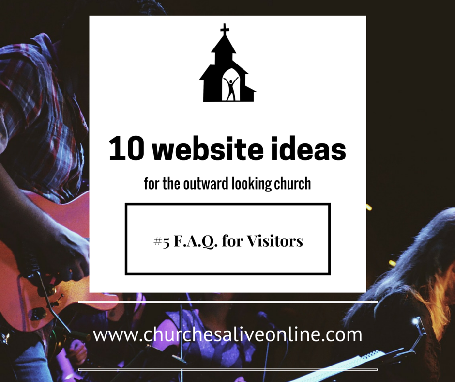 Tip 5 - FAQ for new visitors