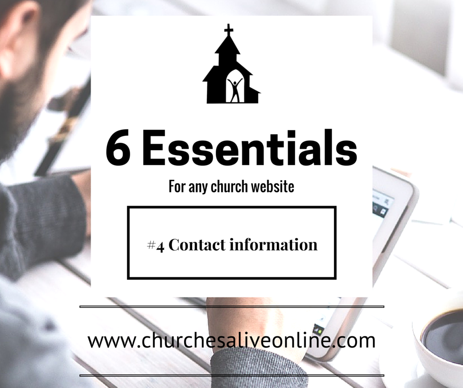 6 Church Website Essentials - Number 4