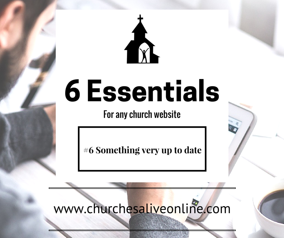 6 Church Website Essentials - Number 6